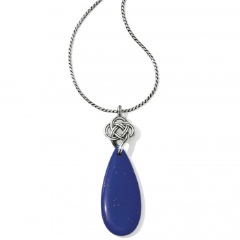 Interlok Blue Necklace