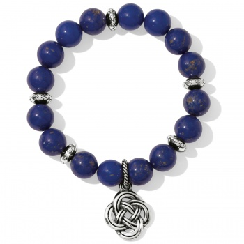 Interlok Blue Stretch Bracelet