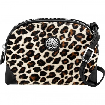 Ferrara Ferrara Sauvage Large Hair-On Cross Body Pouch