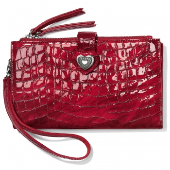 Bellissimo Heart Bellissimo Heart Double Zip Wallet