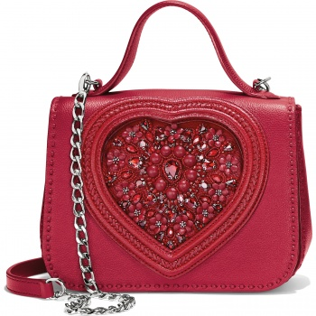 Lovey Beaded Satchel