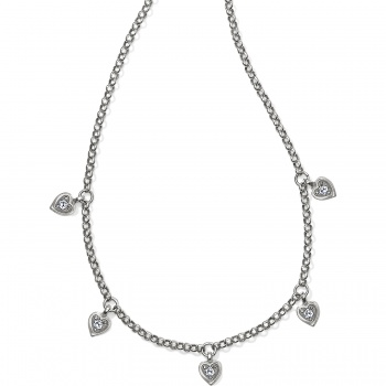 Meridian Meridian Love Notes Station Necklace