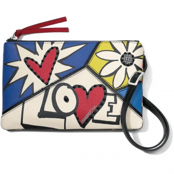 Crazy Love Bright Cross Body Pouch