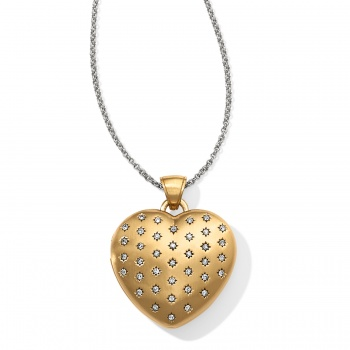 Brighton's Love Lockets Sweetheart Convertible Locket Necklace