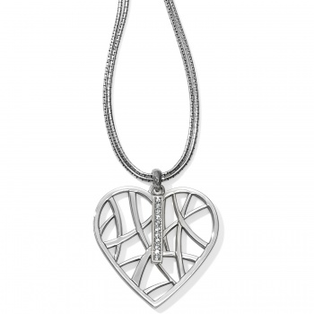 Meridian Meridian Zenith Convertible Heart Necklace