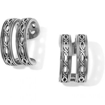 Ferrara Equestra Hoop Earrings