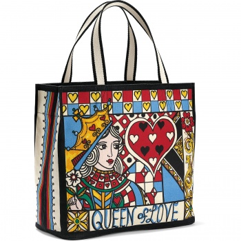 Fashionista Queen of Love Tote