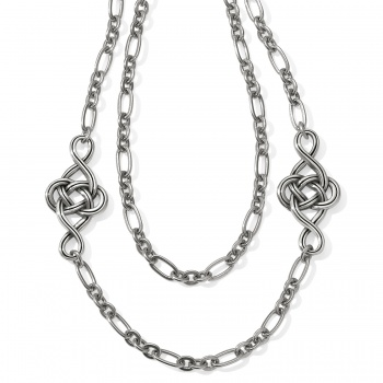 Interlok Interlok Knot Layer Necklace