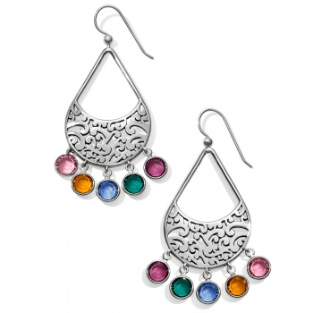 Elora Gems Drops French Wire Earrings