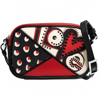 Fashionista Crazy Love Mini Camera Bag