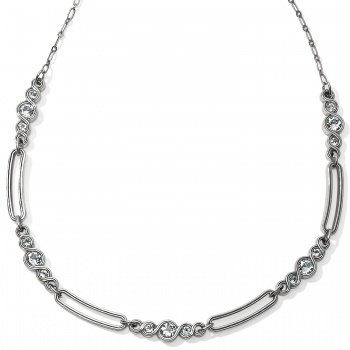 Infinity Sparkle Infinity Sparkle Link Collar Necklace