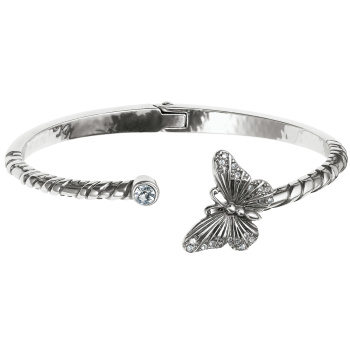 Solstice Solstice Butterfly Hinged Bangle