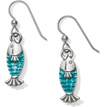 Ocean Dream Fish French Wire Earrings