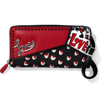 Crazy Love Large Zip Wallet