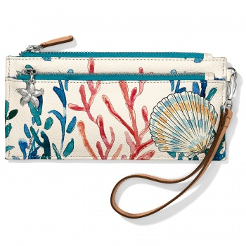 Under The Sea Triple Zip Pouch