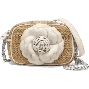 Rosie Straw Camera Bag