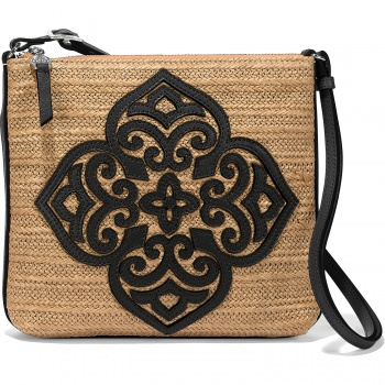 Casablanca Sarita Straw Cross Body Bag