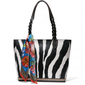 AFRICA STORIES BY BRIGHTON Zane Scarf Tote