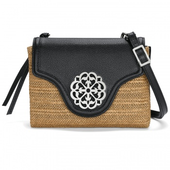 Ferrara Eve Straw Messenger Cross Body