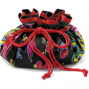 Love Scribble Jewelry Pouch