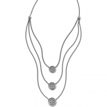 Ferrara Trio Layer Necklace