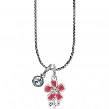 Petal Wishes Vivi Charm Necklace