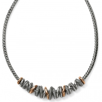 Neptune's Rings Arch Necklace