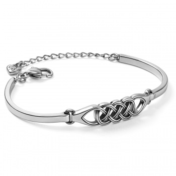 Interlok Braid Bar Bracelet