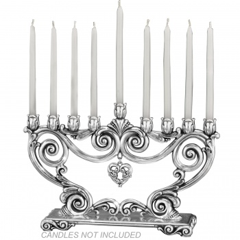 Tradition Scroll Menorah