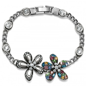 Trust Your Journey Flower Bracelet