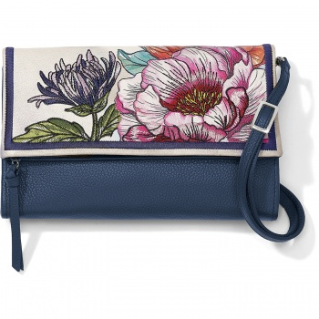 Enchanted Garden Embroidered Flap Organizer