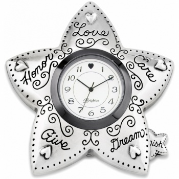 Wishing Star Wish Upon A Star Clock