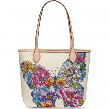 Lily Embroidered Tote