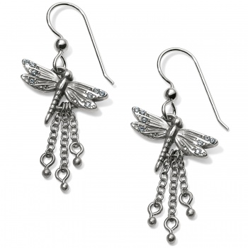 Solstice Dragonfly French Wire Earrings