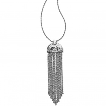 Africa Stories Chain Fringe Necklace