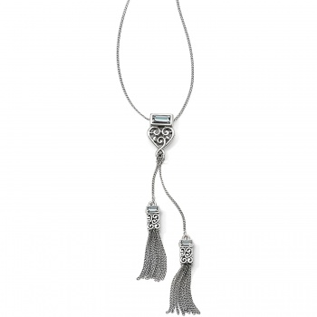 Baroness Y Tassel Necklace
