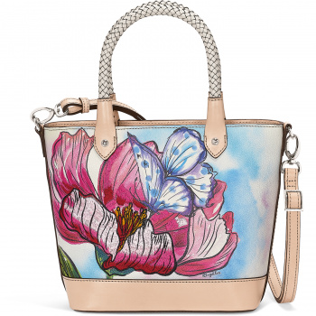 ENCHANTED GARDEN Odette Embroidered Tote