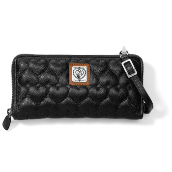 Heart To Heart Large Zip Wallet