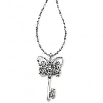 BRIGHTON'S Adorned Keys Illumina Butterfly Key Necklace
