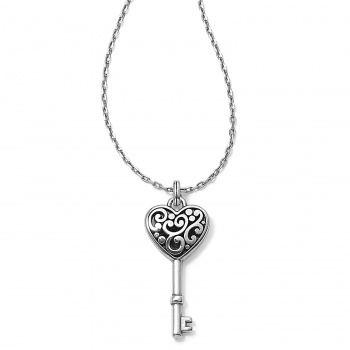 Contempo Heart Key Necklace