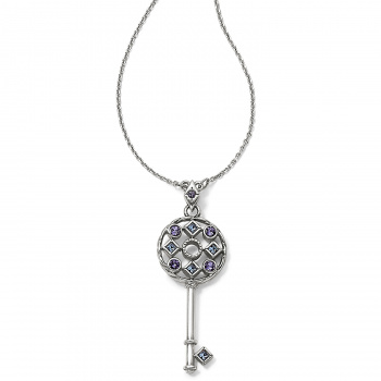Halo Key Necklace