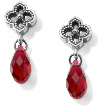 Toledo Alto Briolette Post Drop Earrings