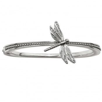 Solstice Solstice Dragonfly Hinged Bangle