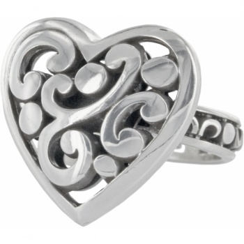 Contempo Heart Ring