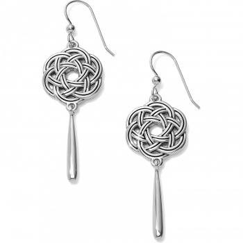 Interlok Eternity Circle French Wire Earrings