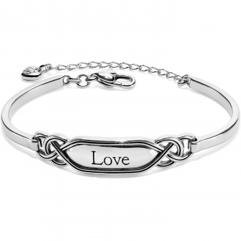 Interlok Love Bar Bracelet