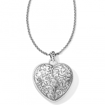 Brighton's Love Lockets Timeless Heart Convertible Locket Necklace