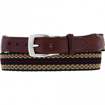 Nantucket Striped Belt
