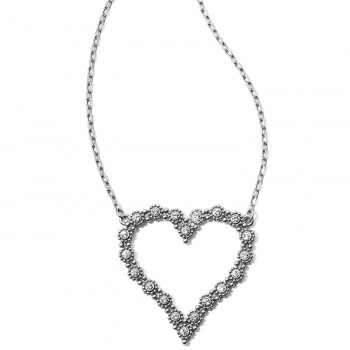 Twinkle Twinkle Splendor Heart Necklace