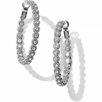 Twinkle Splendor Medium Hoop Earrings